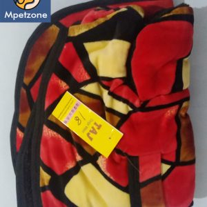 Red Black and yellow Makhmal Premium Jackets For Dog Pets