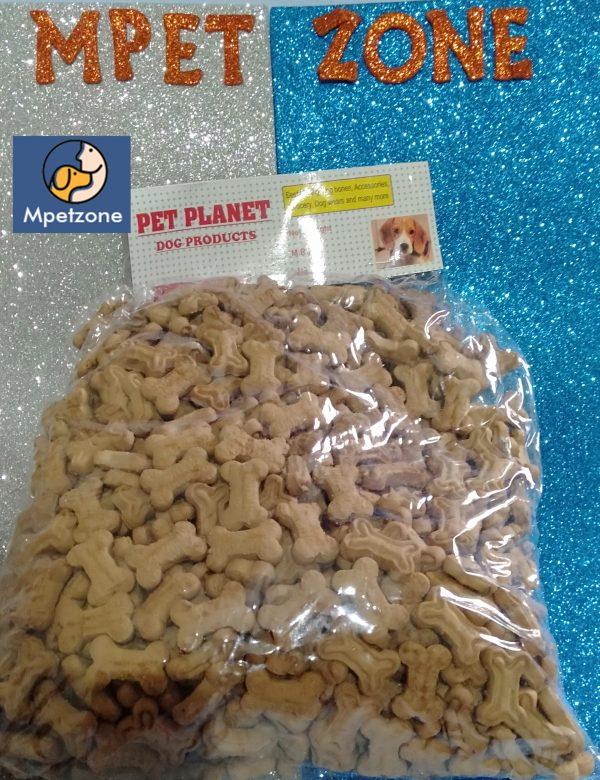 Dog Biscuits Best Quality chicken flavour bone type looking biscuits