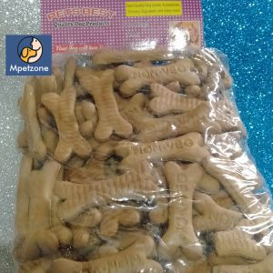 Dog Biscuits Best Quality Big chicken flavour bone type looking biscuits