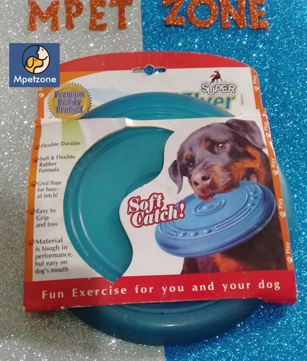 Dog Rubber Flyer Flying Disc Toy Premium Quality